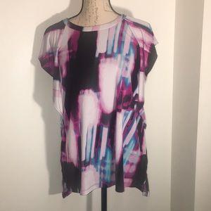 🤩Fancy Tie Dye Wing Sleeved Top. Size L